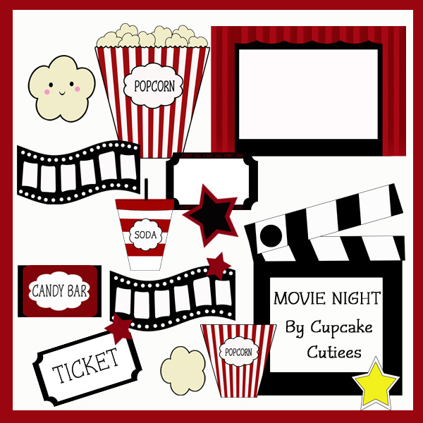 Movie clipart nite Items clipart clipart similar Find