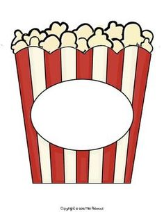 Templates  clipart popcorn The popcorn Results and Pinterest