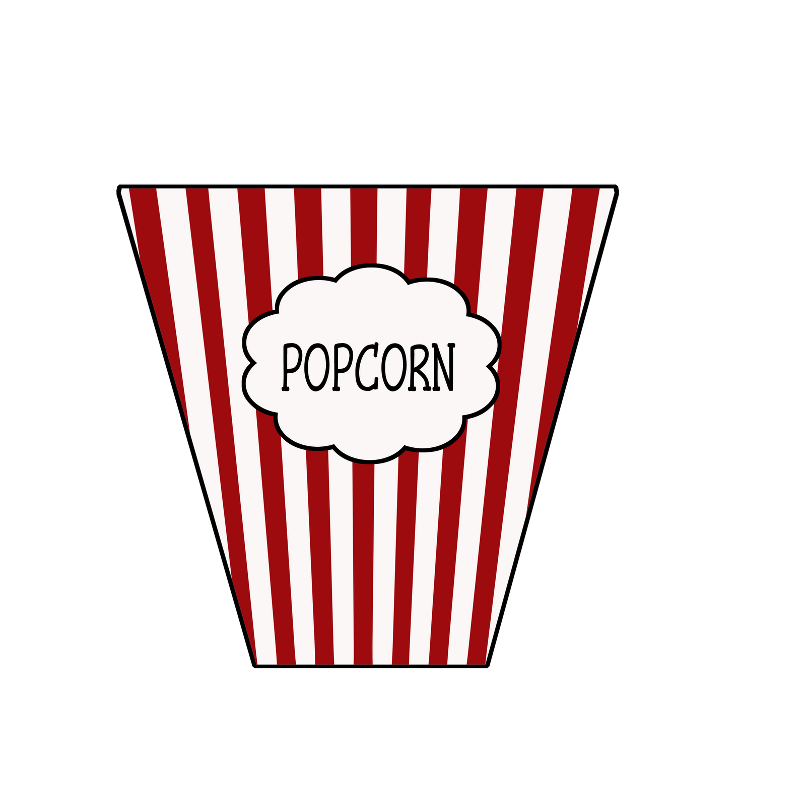 Carnival clipart popcorn container Clipart Clipart Images Panda Popcorn