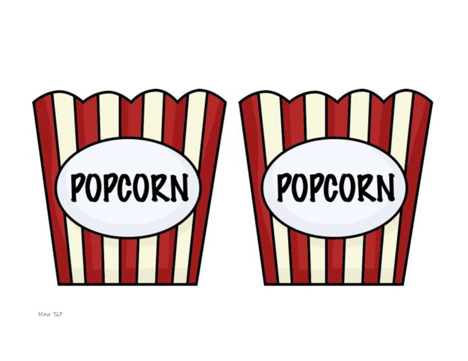 Templates  clipart popcorn On Images best Print Popcorn
