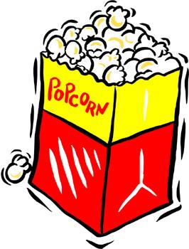 Movie clipart popcorn kernel Clipart Images Popcorn Movie Panda
