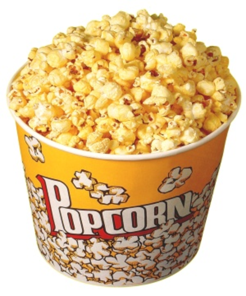 Basket clipart popcorn Art clipart transparent and kernel