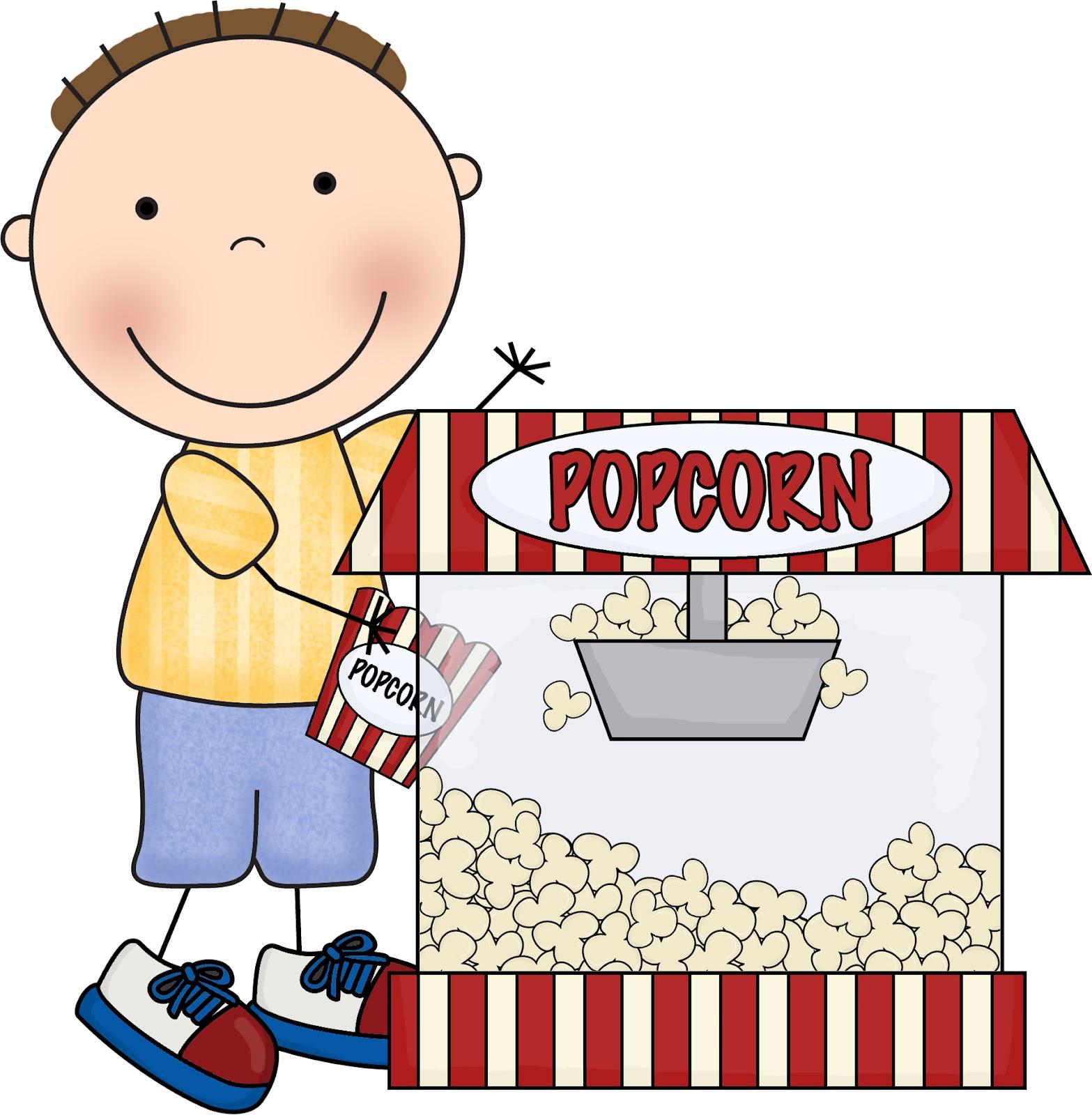 Carneval clipart popcorn bucket Dayasriolk kernel Popcorn piece clip
