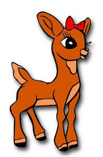 Reindeer clipart rudolph the red reindeer #1