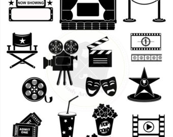 Movie clipart silhouette Silhouettes movie clipart clipart silhouettes