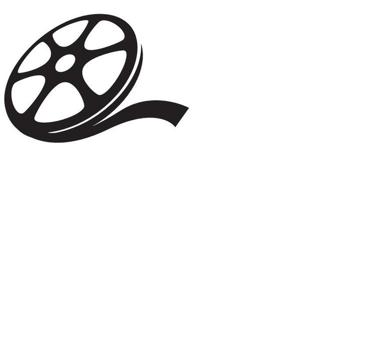 Movie clipart silhouette Reel clipart clipart reel Movie