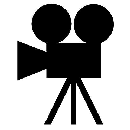 Movie clipart silhouette Camera 25+ art clip Clip