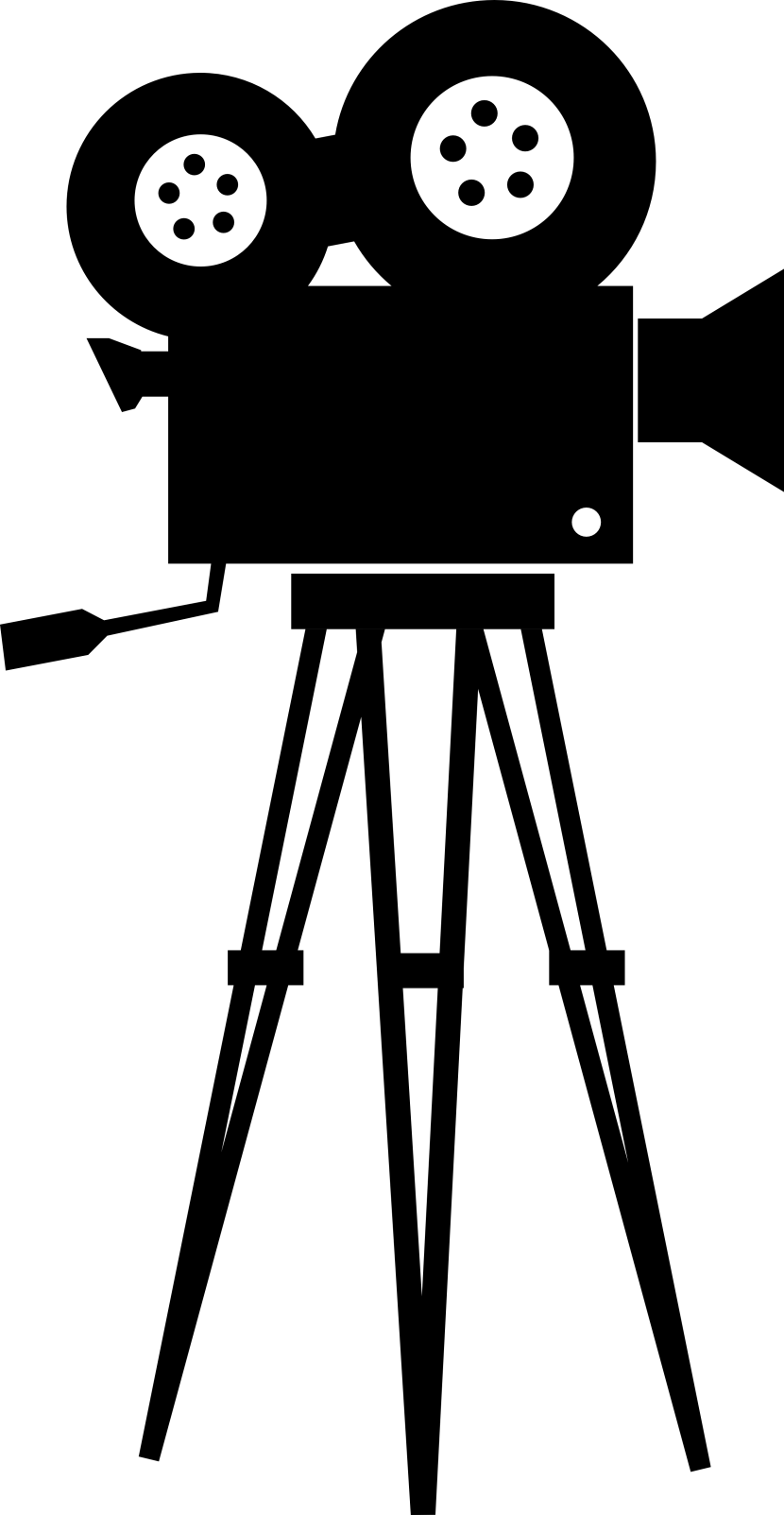 Movie clipart silhouette Camera com Free Art Best