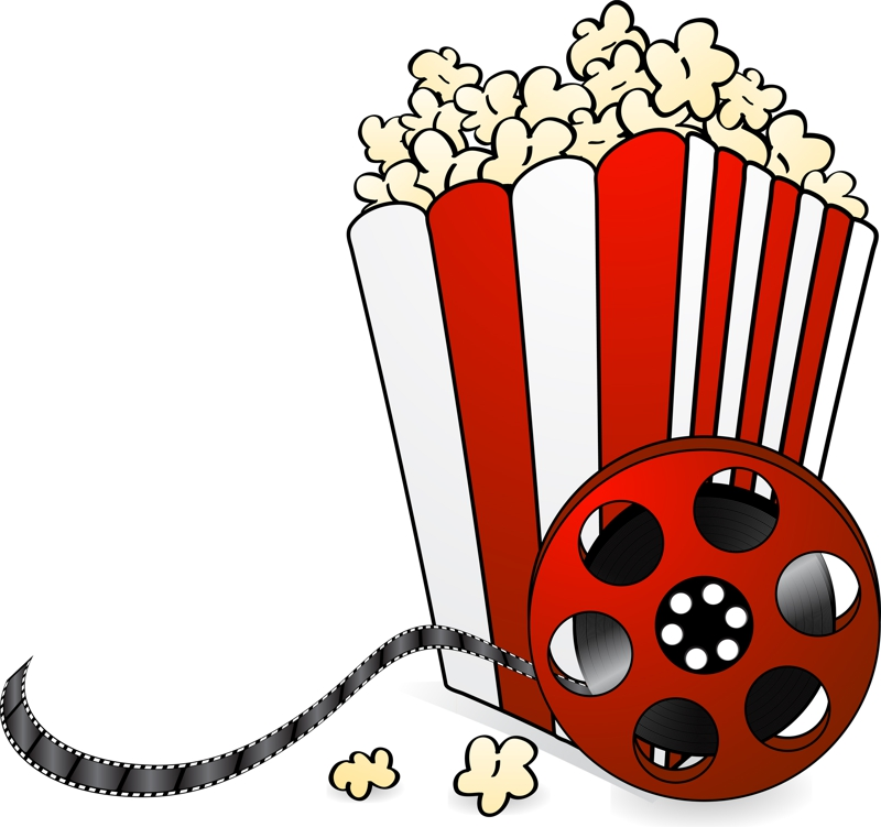Night clipart cartoon Com Picture Popcorn Night Clipart