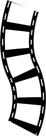 Movie clipart stripe Strip Reel  Logo Best