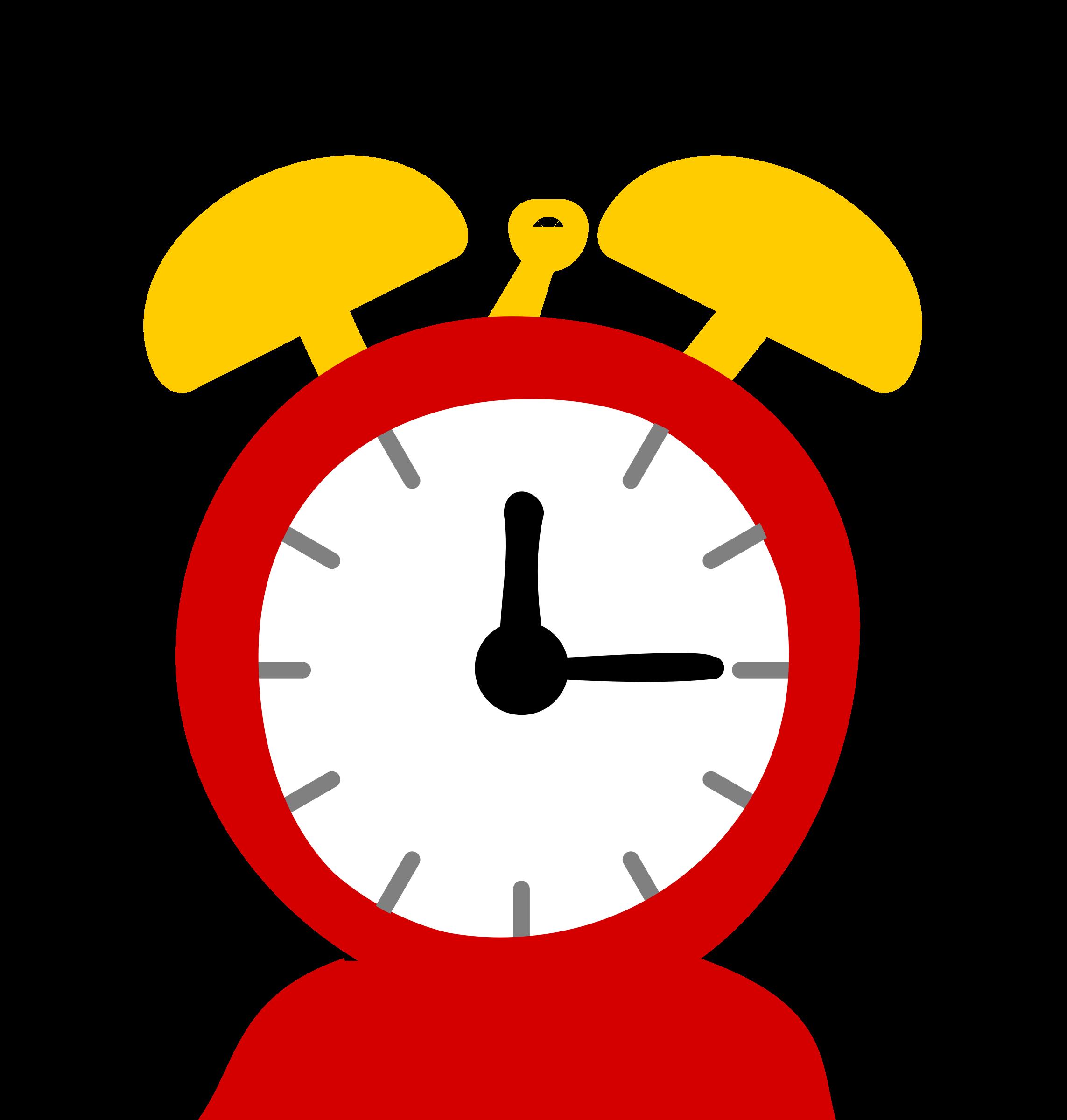 Colouful clipart alarm clock #8