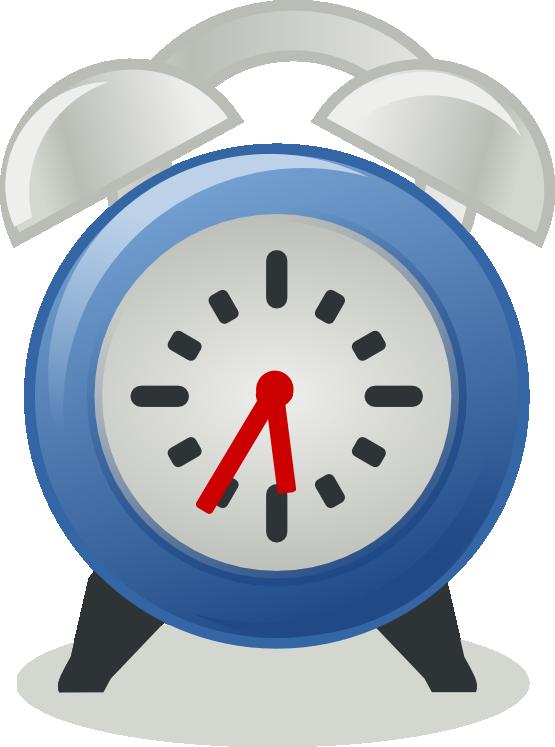 Colouful clipart alarm clock #1