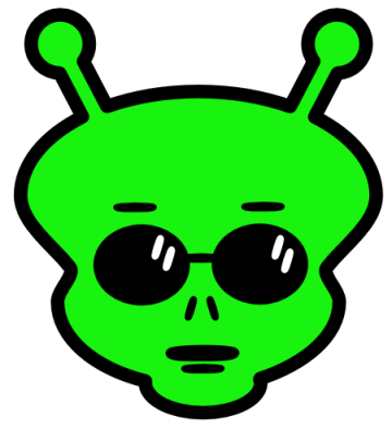 Moving clipart alien Graphics  Clip Animated Aliens