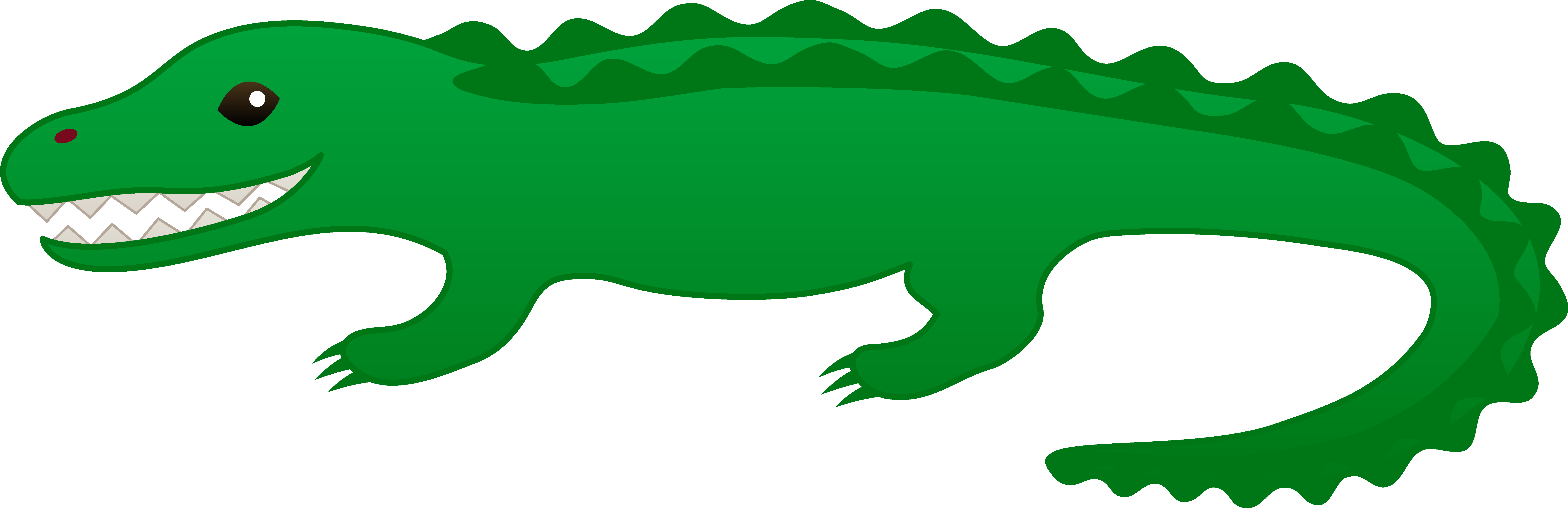 Reptile clipart alligator #6