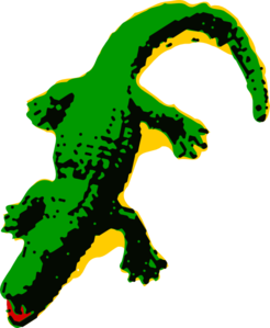 Moving clipart alligator Clipart alligator animated alligators clipartcow