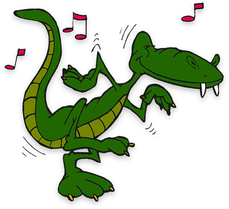 Smileys clipart crocodile Animated Free Gifs dancing to