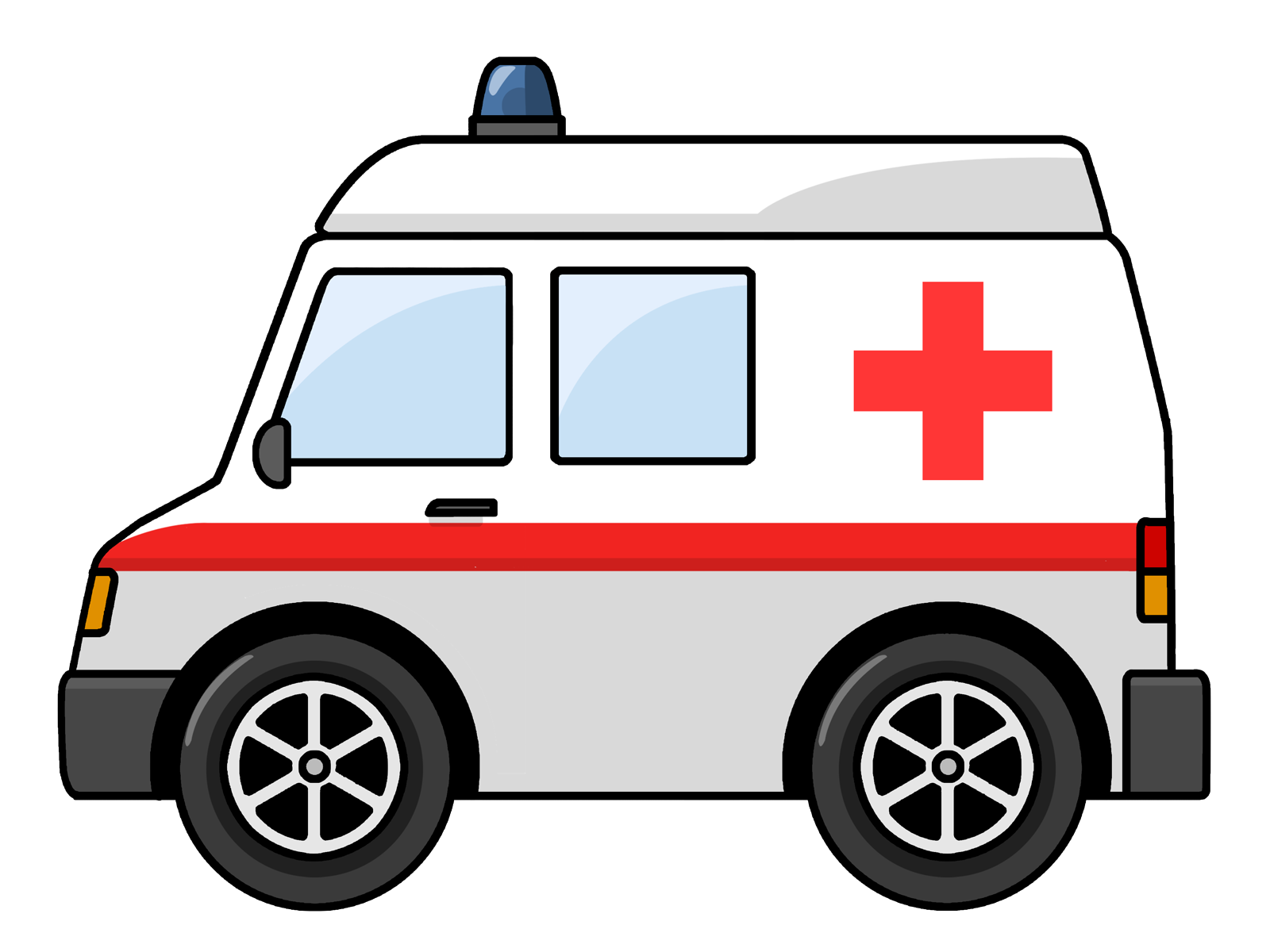 Emergency clipart police car Ambulance Free ClipartAndScrap art to