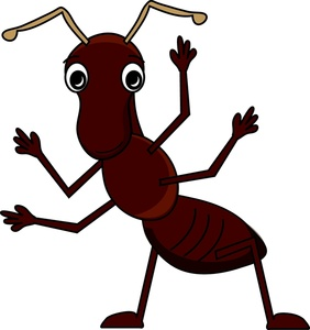 Moving clipart ant Big Ant cartoon its Image: