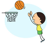 Child clipart basketball Playing for Search Kb basketball