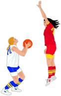 Moving clipart basketball Basketball women's Free basketball small