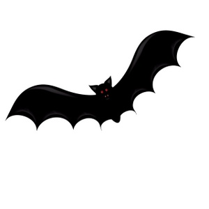 Shadow clipart bat #7
