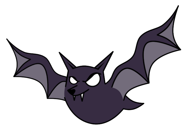 Bat clipart animated Bat Cliparts Teeth Cartoon Bat
