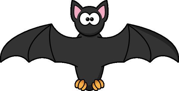 Moving clipart bat #6
