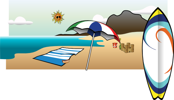Moving clipart beach Free Clipart The Cliparts On