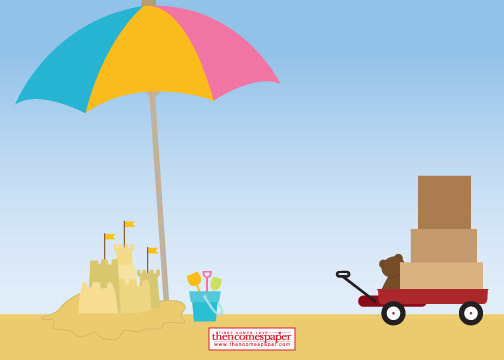Moving clipart beach Beach Moving of Beach Nautical