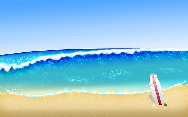 The Sea clipart beach background  clipart Download Art on