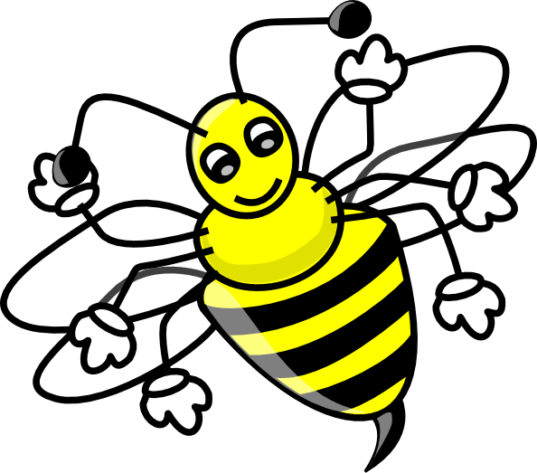 Bees clipart lebah Com image free Clip as: