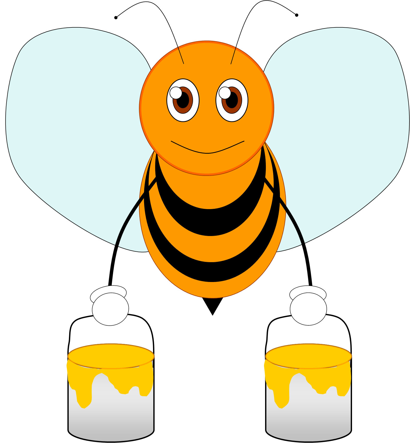 Moving clipart bee A Cute Image bee 20