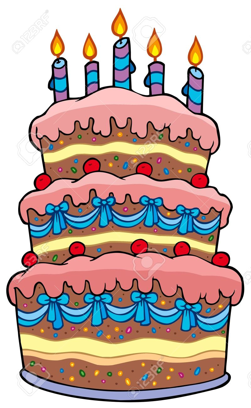 Tart clipart cartoon A birthday BBCpersian7 cake Clipart