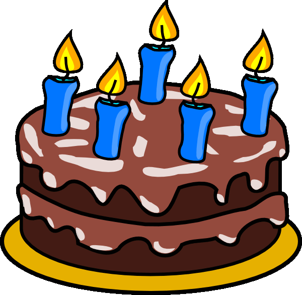 Moving clipart birthday cake Clipart collection animated 2 Birthday