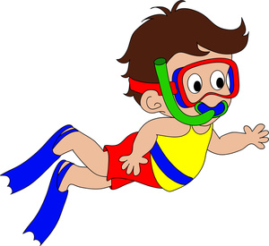 Moving clipart boy Panda Kids Images Free Swimming