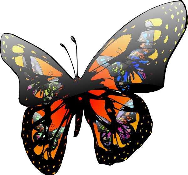 Moving clipart butterfly As: Clip at  Effect
