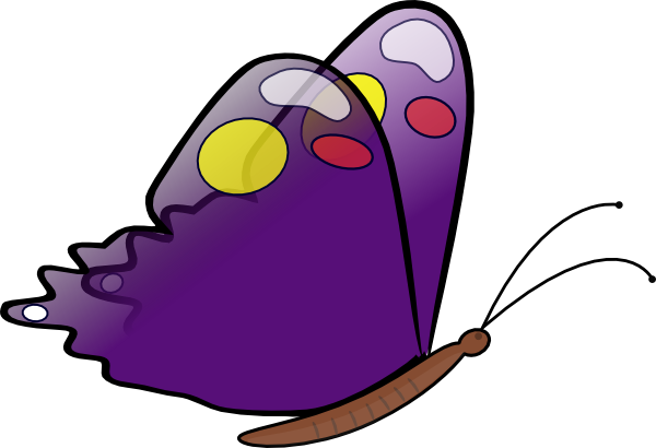 Moving clipart butterfly At Clip art royalty Butterfly