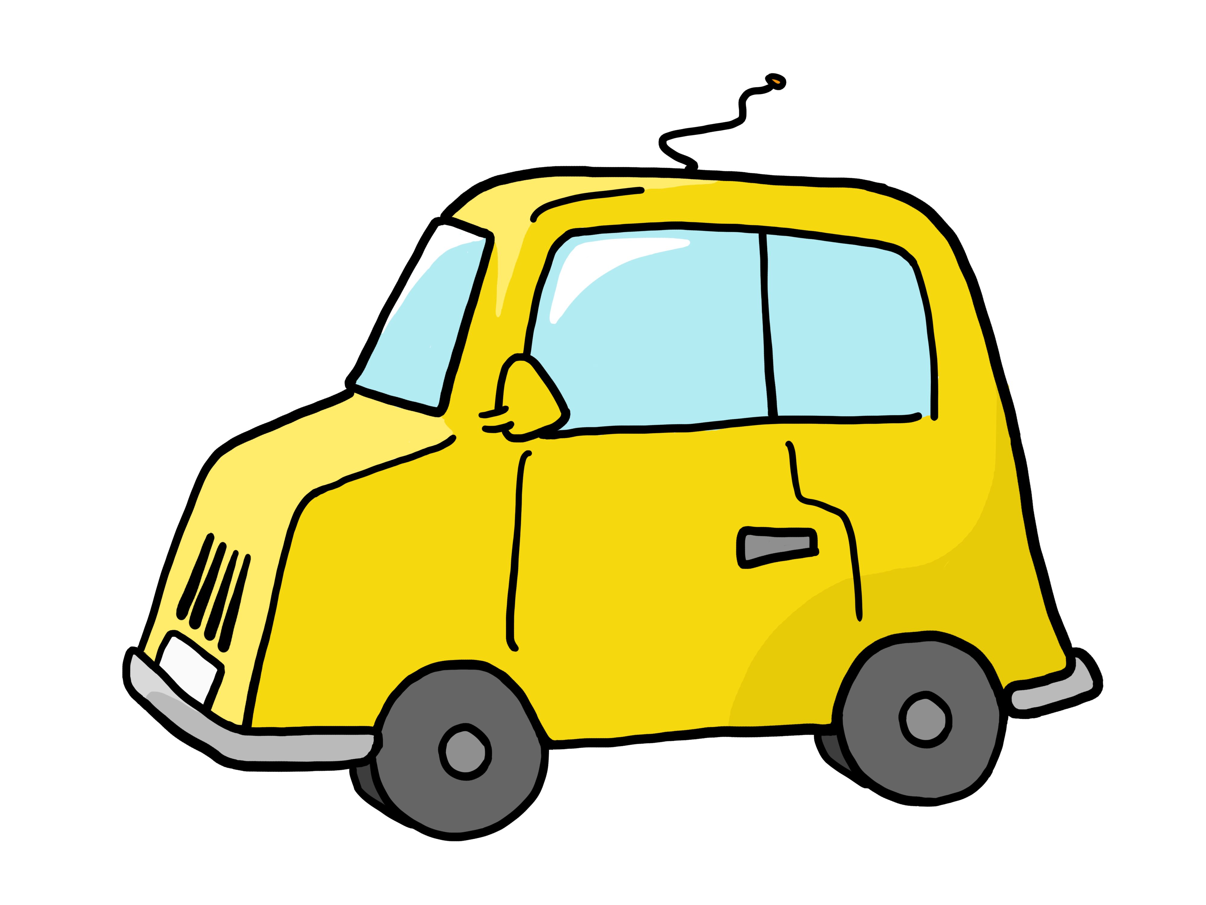 Yellow clipart toy car Clipart Cliparts Free on Moving