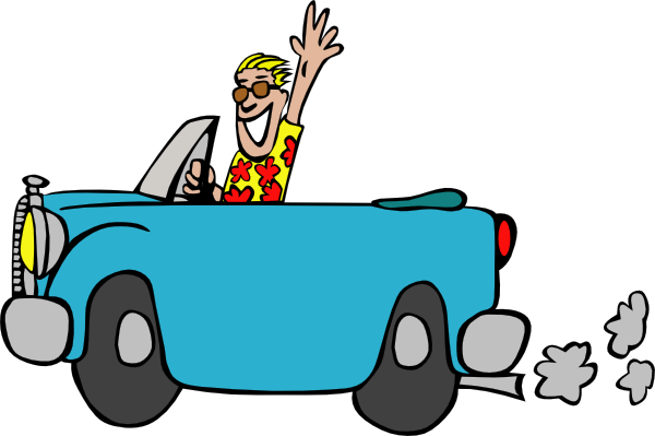 Moving clipart car #9