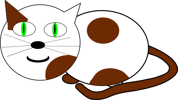 Moving clipart cat #2