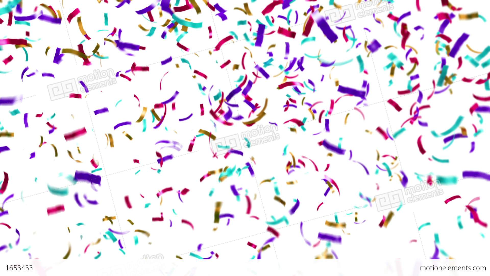 Moving clipart confetti Stock of  Footage clip