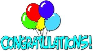 Moving clipart congratulation #11