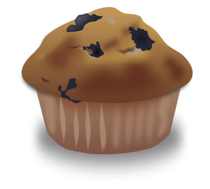 Blueberry Muffin clipart cute & and Pie Muffin Animations