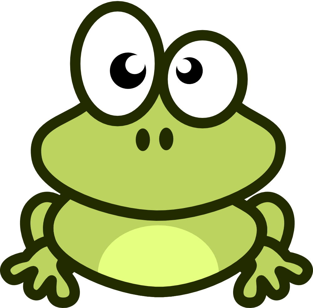 Moving clipart cute  Minus Collection Animated Frog