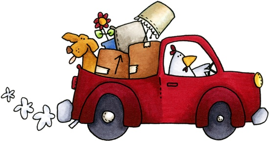 Moving clipart cute On day moving art clip