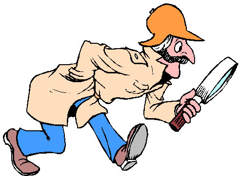 Moving clipart detective #13