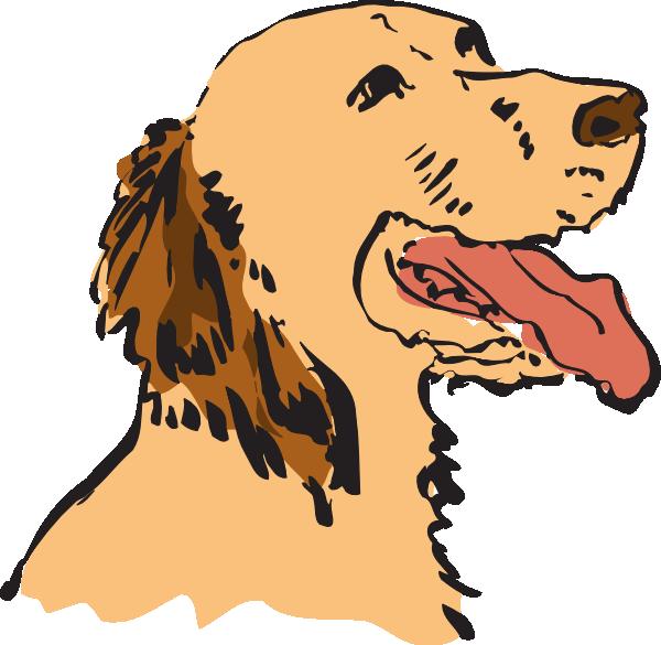 Moving clipart dog Dog as: art Panting vector