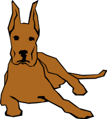 Moving clipart dog #5