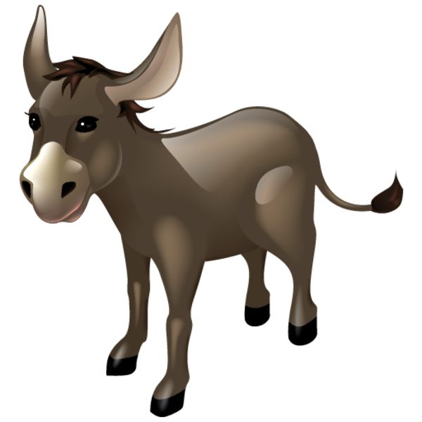 Moving clipart donkey CLIP FOR ART more about