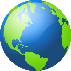Moving clipart earth #2